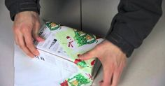 You'll Never Wrap Presents The Same Way Again After Watching How He Does It! It's EASY! - Diy Everything