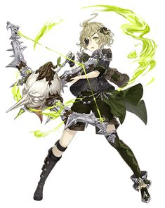 View an image titled 'Pinocchio, Gunner Job Art' in our SINoALICE art gallery featuring official character designs, concept art, and promo pictures. Female Character Design, Character Design References, Character Design Inspiration, Character Concept, Character Art, Concept Art, Anime Oc, Chica Anime Manga, Anime Kawaii