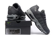 fa49ddef83f 2018 New Arrival Nike Air Max 95 Essential 20 Anniversary 609048 088  Charcoal Grey Metallic Silver · Lebron 15 ...