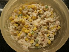 Reis - Mais - Thunfisch - Salat, leicht, ein schmackhaftes Rezept aus der Kategorie Krustentier & Fisch. Bewertungen: 5. Durchschnitt: Ø 3,7.