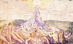 Munch, The Human Mountain (1909-10)
