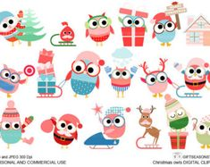 Pirate owl clip art for Personal and Commercial от Giftseasonstore