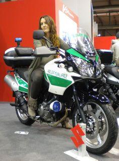 Italian Police Bike