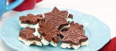I think you will love to make these peppermint chocolate snowflakes , they are great to make as gifts to but them in a pretty bag.. yummy or just to...