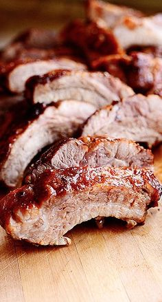 Spicy Dr. Pepper Ribs Rib Recipes, Slow Cooker Recipes, Cooking Recipes, Crockpot Recipes, Traeger Recipes, Cooking Fish, Healthy Recipes, Cooking Turkey, Healthy Dinners