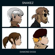 Metal gear solid V and gorillaz