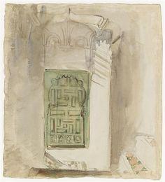 Eugène DELACROIX, Intérieur au Maroc : la porte verte, Musée du Louvre, Photo (C) RMN-Grand Palais (musée du Louvre) / Thierry Le Mage.