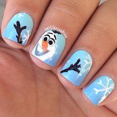 Olaf nails!