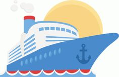 free cruise ship clip art image clip art illustration of a cruise rh pinterest com cruise ship clip art black and white cruise ship clip art black and white
