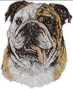 Advanced Embroidery Designs - Bulldog