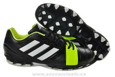 Black/Silver/Electricity Adidas Nitrocharge 3.0 TRX AG Soccer Cleats