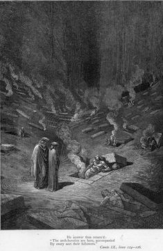 The Divine Comedy: Hell / Dante Alighieri; translated by H. F. Cary; illustrated by Gustave Doré