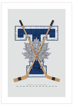12 Best NHL Hockey Poster Art images in 2015 | Hockey