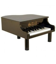 The 18 Key Mini Grand is the little piano to introduce music to a little child. The Schoenhut 18 Key Mini Grand is a perfect entry into music. On sale! First Birthday Presents, Baby Grand Pianos, Keyboard Piano, Play To Learn, Baby Play, Musical Instruments, The Help, Baby Shower Gifts, Musicals