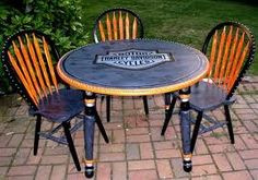 Harley table and chairs