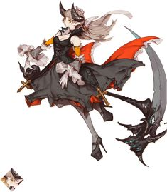 Mobile - Arcaea - New Dimension Rhythm Game - Lethe Female Character Design, Character Creation, Character Design References, Game Character, Character Concept, Concept Art, Anime Fantasy, Fantasy Girl, Female Characters