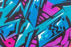 Fashion Color Graffiti- shutterstock - Fototapeter & Tapeter - Photowall