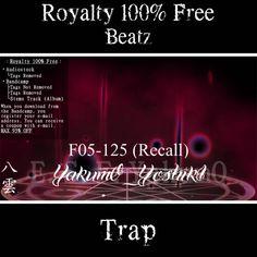 F05-125 (Recall) [Tags Not Removed]【Royalty Free】   YakumO_YoshikI