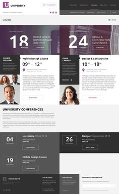 American University by Serge Mistyukevych, via Behance