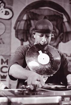 DJ Premier of Gangstarr.  R.I.P Guru