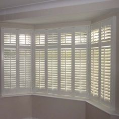 Bay Window Shutters I Love These