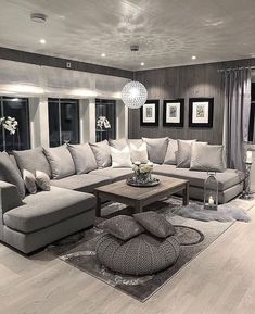 There are many elegant living room ideas that you might decide to get applied in your living room design. Because you have landed here then most probably you want Elegant living room answer. Next Living Room, Living Room Decor Cozy, Elegant Living Room, Living Room Grey, Interior Design Living Room, Home And Living, Interior Livingroom, Cozy Living, Grey Living Room Furniture