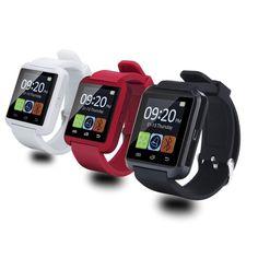Smartwatch Bluetooth Smart Uhr U8 Armbanduhr digitale sportuhren für IOS Android Samsung Tragbare Elektronische Gerät //Price: $US $8.56 & FREE Shipping //     #meinesmartuhrende