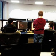 Dev Guys Working Hard!  #software #development #marketing #business #ecommerce