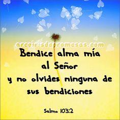 Agradece cada bendición | Arcoiris de Promesas Lee un mensaje de este pin siguiendo el enlace: http://www.arcoirisdepromesas.com/2015/05/agradece-cada-bendicion.html