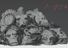 Curios and Wonders Savage, Sketches, Black And White, Cool Stuff, Drawings, Illustration, Style, Scrap, Black White