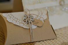 Paper Flourish @ the Bay Bridal Fair 2013 Pillow Box