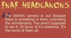 Fnaf Headcanons