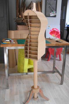 Mannequin en carton Sandrine Pucheu - Carton Box