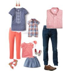 Spring Family Portrait Session Outfit Ideas | www.lanariphotography.com #spring #whattowear #familyportraitsession