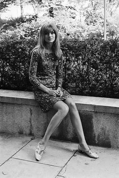 #1960s-flower print suits. I actually owned a couple of these.