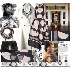 Dots is the New Look!, created by nefertiti1373 on Polyvore