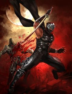 Ryu Hayabusa by seilan-bloom.deviantart.com on @deviantART
