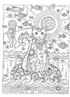 creative cats coloring book - Google Search