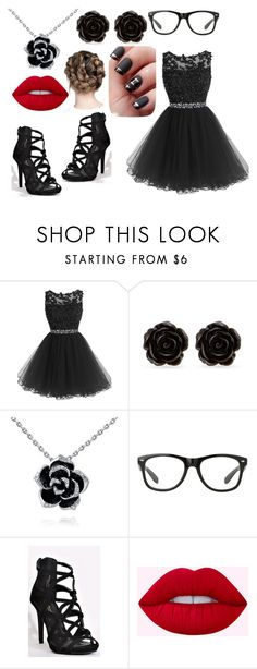"""""""Girly Emo Princess"""" by fangirling0ver-lae ❤ liked on Polyvore featuring Erica Lyons"""