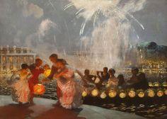 The Joyous Festival by Gaston La Touche.
