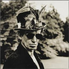 Keith Richards. Photo © Anton Corbijn