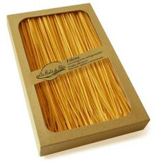Rigorous selection of raw material, production systems above those of craft pasta factories, and product's guarantee of uniqueness are the essential secrets of La Pasta di Aldo in Monte San Giusto; an out-and-out jewel to store in any real gourmet's cupboard. www.dolceterra.it  #Filini #Pasta #Aldo $12.00