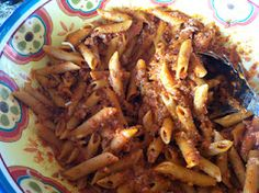 Penne Bolognese is ah-mazing!