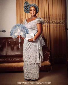 African Bridal Dress, Short African Dresses, African Lace, African Women, African Fashion, Bridal Dresses, Igbo Bride, African Attire, African Outfits