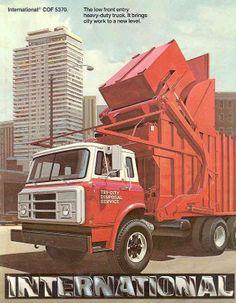 1977 International Cof5370 Refuse Truck Brochure Wf3538 Ycrqds Semi Trucks Pick Up