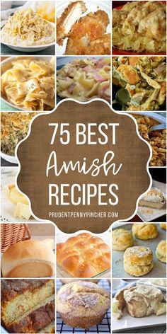Whip up one of these delicious old fashioned amish recipes. There are recipes for breakfast, lunch, dinner, dessert and more. From traditional amish recipes to new takes on the classics, there are plenty of old fashioned recipes that you can make from scratch. Best Amish Recipes, Great Recipes, Favorite Recipes, Amish Bread Recipes, Pennsylvania Dutch Recipes, Amish Friendship Bread, Dinner Dessert, Vintage Recipes, Food To Make