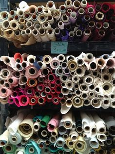 Fantastic resource on fabric, notions & more in the NYC garment district: Shop the Garment District blog.
