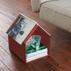 revisteiro em forma de casinha