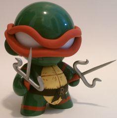 """Teenage Mutant Ninja Turtles 4"""" Munny Raphael. $45.00, via Etsy."""