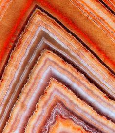 Orange agate
